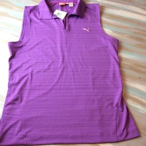 Puma purple athletic top